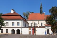Church of Saint Giles in Krakow Royalty Free Stock Photo
