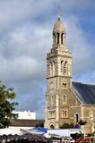 Church of Saint-Gilles-Croix-de-Vie in france Royalty Free Stock Photos