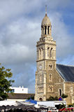 Church of Saint-Gilles-Croix-de-Vie in france Royalty Free Stock Photos
