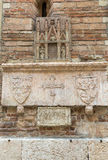 The church of Saint Giovanni in Foro in Verona Royalty Free Stock Photo