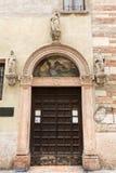 The church of Saint Giovanni in Foro in Verona. Stock Photos