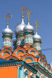 Church of Saint Gregory of Neocaesarea in Polyanka Stock Photography