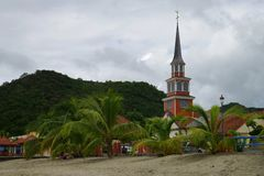 Church Of Saint Henry, Martinique Island - Lesser Antilles, French overseas territory Royalty Free Stock Photography