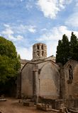 Church of Saint Honoratus (XIII c.) in Arles, France Royalty Free Stock Photo