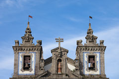 Church of Saint Ildefonso Bell Towers in Porto Royalty Free Stock Images