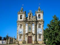 Church of Saint Ildefonso stock photos