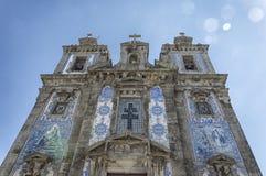 Church of Saint Ildefonso royalty free stock photography