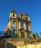 Church of Saint Ildefonso. The Igreja de Santo Ildefonso is an eighteenth-century church in Porto, Portugal. The church is located near Batalha Square. Completed stock photo