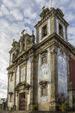 Church of Saint Ildefonso - Igreja de Santo Ildefonso Royalty Free Stock Photo