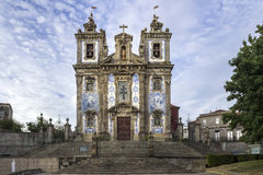 Church of Saint Ildefonso - Igreja de Santo Ildefonso Stock Images