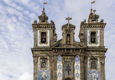 Church of Saint Ildefonso - Igreja de Santo Ildefonso Royalty Free Stock Images