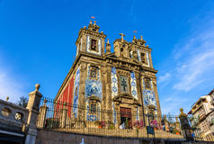 Church of Saint Ildefonso in Porto Stock Images