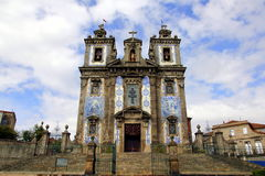 Igreja de Santo Ildefonso Royalty Free Stock Photography
