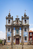 Church of Saint Ildefonso in Porto, Portugal Stock Images