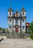 Church of Saint Ildefonso in Porto, Portugal. Igreja de Santo Ildefonso church in Porto, Portugal royalty free stock image