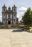 Church of Saint Ildefonso - 18th century building in Baroque style Royalty Free Stock Image