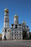 Church of Saint Ioann Lestvichnik and Ivan the Great Bell Tower, Kremlin, Moscow Stock Photography