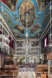 Church of Saint Ioannis the Precursor, Corfu Greece. The interior of Church of Saint Ioannis the Precursor, Corfu Town in Greece Stock Image