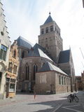 Church of Saint Jacob, Bruges Stock Images