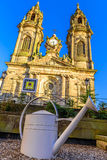 The church of Saint Jacques in Luneville, Lorraine, France royalty free stock images
