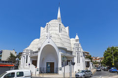 Church of Saint Joan of Arc in Nice, France Stock Photography