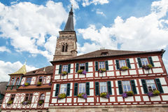 The church of Saint Johannes and Saint Martin, Schwabach, Bavari Stock Images