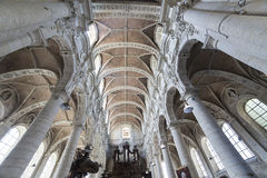 Church Saint John the Baptist at Beguinage, Brussels, Belgium Stock Photo