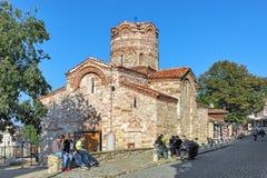 Church of Saint John the Baptist in Nessebar, Bulgaria Stock Images