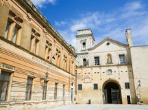 Church of Saint John the Evangelist in the center of Lecce, Pugl Royalty Free Stock Photos