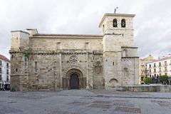 Church of Saint John. Zamora Royalty Free Stock Photo