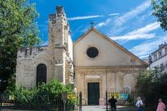 Church of Saint-Julien-le-Pauvre Stock Images
