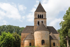 Church in Saint-Léon-sur-Vezere Royalty Free Stock Photos