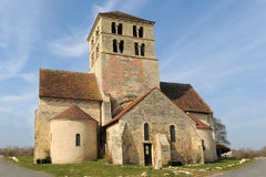 Church Saint Laurent de Beard Royalty Free Stock Images