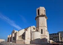Church of Saint Laurent (XVII c.). Marseilles, France Stock Photography