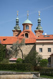 Church of Saint Lawrence on Petrin Hill in Prague, Czech Republic Stock Image