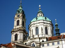 Church of Saint Lawrence, Prague Royalty Free Stock Image