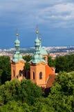 Church of Saint Lawrence in Prague, Czech Republic. Church of Saint Lawrence from Dientzenhofer, Prague, Czech Republic Royalty Free Stock Photography