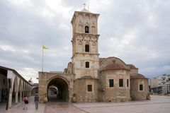 Church of Saint Lazarus, Larnaca, Cyprus stock photo