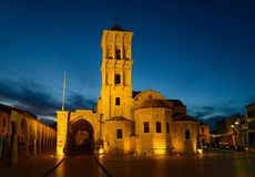 Church of Saint Lazarus - night view Stock Photos