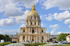 Church Saint Louis des Invalides - Paris Royalty Free Stock Photos