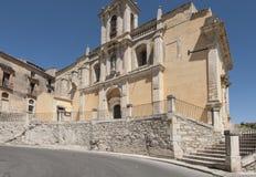 Church of saint lucia ragusa sicily Italy europe Royalty Free Stock Image