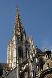 Church Saint Maclou in Rouen in Seine Maritime Stock Photo