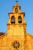 Church of Saint Maria in Montenegro. Church of Saint Maria in Tivat, Montenegro stock photos