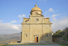Church of Saint Maria Nuova in Cortona Royalty Free Stock Photo