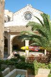 Church of Saint-Marie-Majeure at the Citadel of Bonifacio on Cor. Sica, France Stock Photos