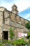 Church of Saint-Martin at Patrimonio on Corsica island, France Stock Photo