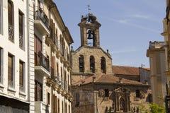 Church of Saint Martin in Salamanca, Spain Stock Photos