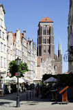 Church Saint Mary of Gdansk in Poland Royalty Free Stock Image