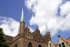 Church Saint Mary of Gdansk in Poland Royalty Free Stock Photography