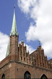 Church Saint Mary of Gdansk in Poland Royalty Free Stock Photos